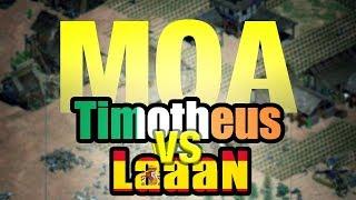 ELIMINACIÓN MOA 5 - LAAAAN vs TIMOTHEUS - PROS AOE 2
