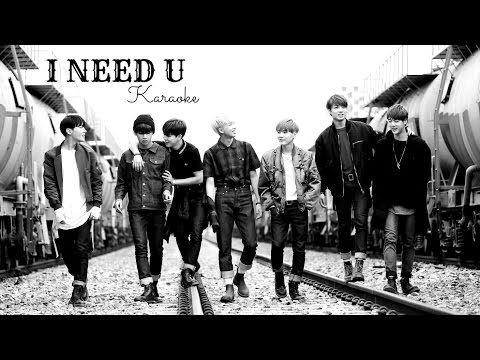 BTS - I NEED U (Official Instrumental) +Karaoke