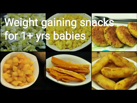1+ Yrs Weight Gaining Baby Food - Snacks Recipes For Babies - Baby Food Recipe - Baby Snacks