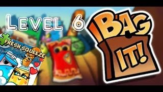Bag It! / Fresh Squeeze / Levels 6 / Milky Way! / Three Stars Walkthrough