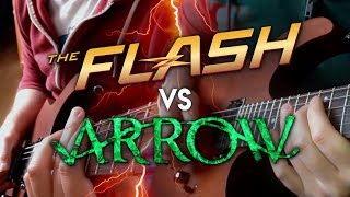 Flash vs Arrow Theme on Guitar