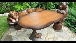 видео Деревянный стол своими руками для беседки – как изготовить? + Видео