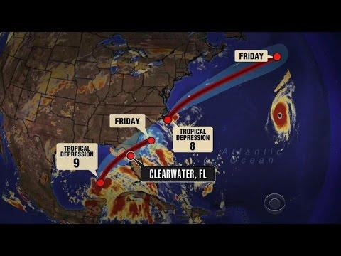 Hurricane watch in Florida