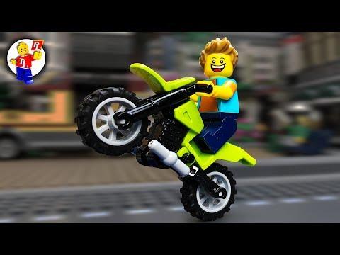 LEGO Motorbike Shopping 🔴 Lego Film (HD) ❗️