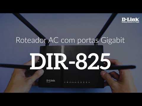 O Roteador Gigabit para Conexões Velozes! DIR-825