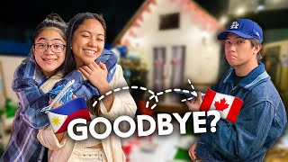 Saying Goodbye (Emotional) | Ranz and Niana