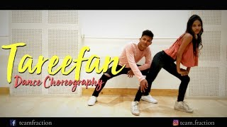 Tareefan Veere Di Wedding Dance Choreography || Team Fraction