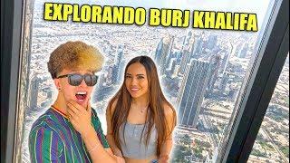 EXPLORANDO BURJ KHALIFA CON MI NOVIA EN DUBAI | Millonarios de Dubai