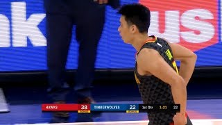 Jeremy Lin Highlights - Hawks at Timberwolves 12/28/18