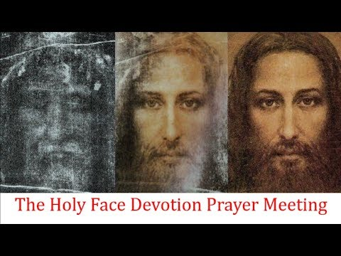 The Holy Face Devotion Prayer Meeting from Ireland | Tue, Jun 30th, 2020
