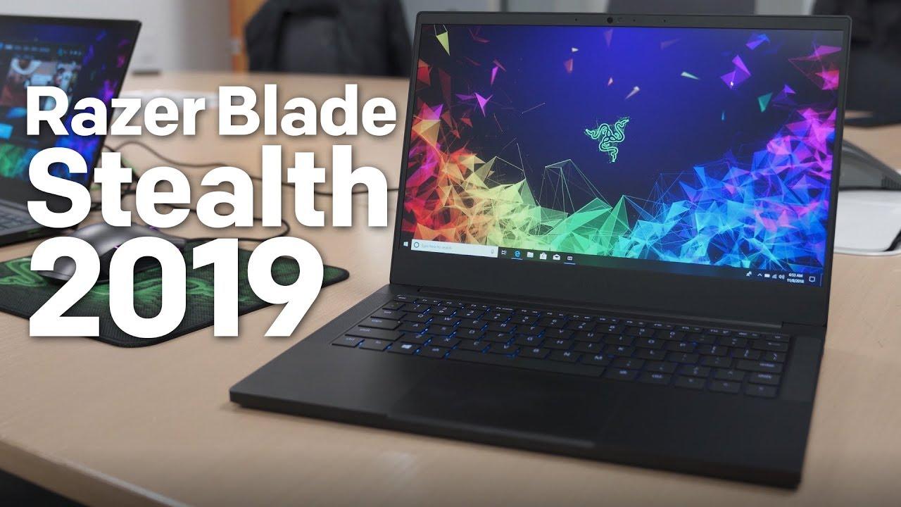 Razer Blade Stealth 2019 Hands-on: Slim Bezels & NVIDIA Graphics