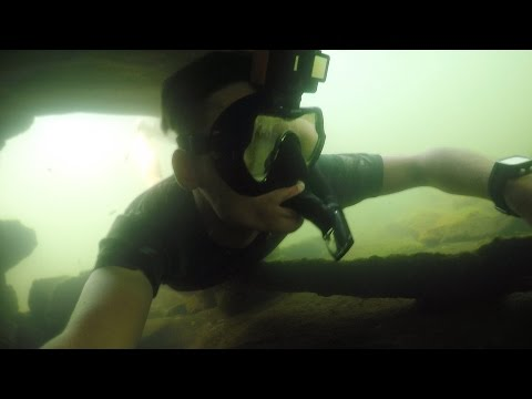 Catching Catfish Underwater With Bare Hands! (Noodling) | DALLMYD