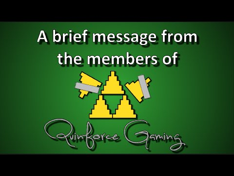 A brief message from Quinforce Gaming