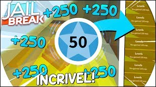 COMMENT GAGNER 3 LEVELS IN SECONDS sur JAILBREAK! - NEW LEVEL POLICE BUG --ROBLOX 😵
