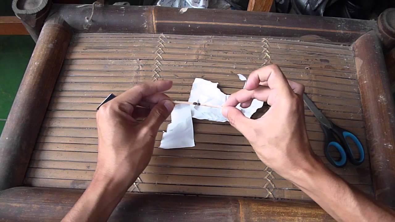 Cara Membuat Petasan Dari Korek Mainan Pistol Api