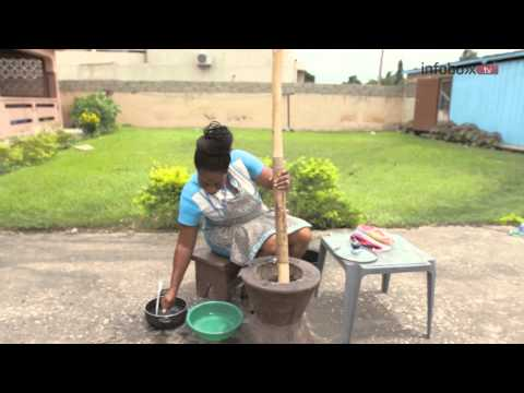 LET'S TALK FOOD : How to Prepare Yam Fufu