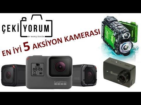 En İyi 5 Aksiyon Kamerası