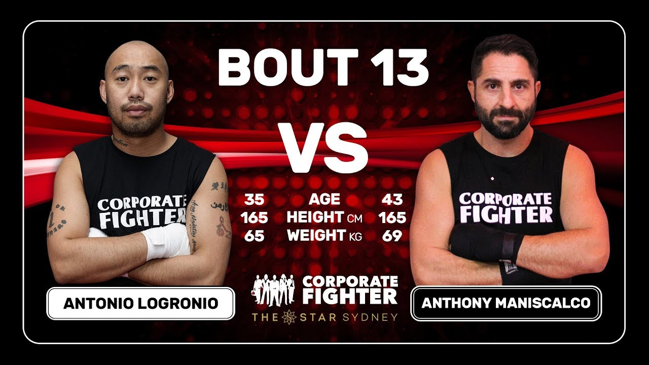 Corporate Fighter 39 - Antonio Logrinio v Anthony Maniscalco