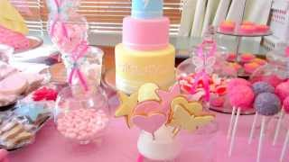 Dessert Table / Lolly Buffet - How To On My Channel