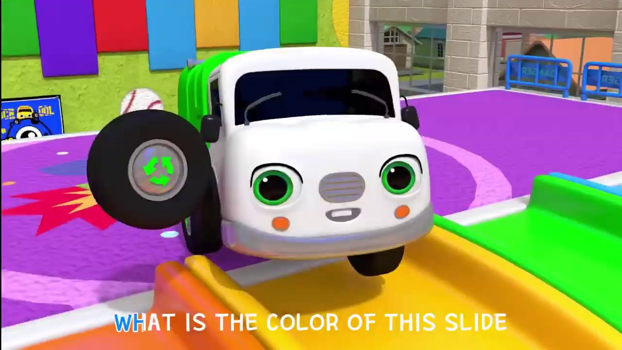 Download Learn Colors And Balls Names With Slide Song | Nursery Rhymes & Kids Songs - ToyMonster