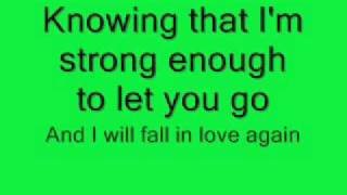 Leann Rimes-One Way Ticket + LYrics