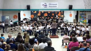 Count Rockula - Herman Fall Band Concert 102214 - Beginning Band