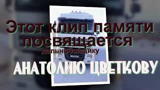 Памяти дальнобойщика Анатолия Цветкова. Клип сделан по просьбе шофера Романа Хромовских