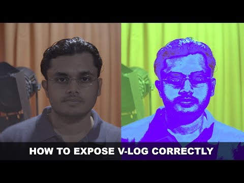 How to Expose V-Log in the Panasonic GH5