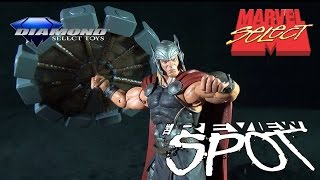 Toy Spot - Diamond Select Marvel Select Disney Store Exclusive The Mighty Thor
