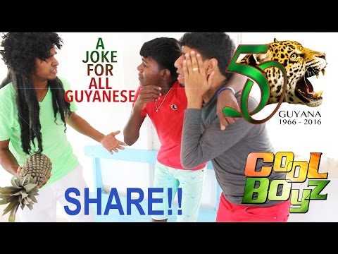 No Good In Thieving (CoolBoyz) --- Guyanese Jokes (Happy 50th Anniversary To All Guyanese)