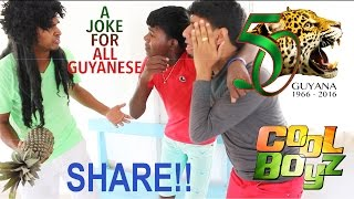 No Good In Thieving (CoolBoyz)  Guyanese Jokes (Happy 50th Anniversary To All Guyanese)