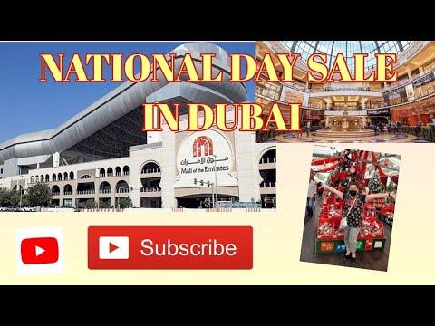 NATIONAL DAY SALE in DUBAI/ MALL OF EMIRATES/ DUBAI VLOGS/ #DUBAILIFE – Jelie's Channel
