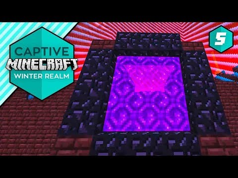 THE WORST NETHER!  - Captive Minecraft IV #5