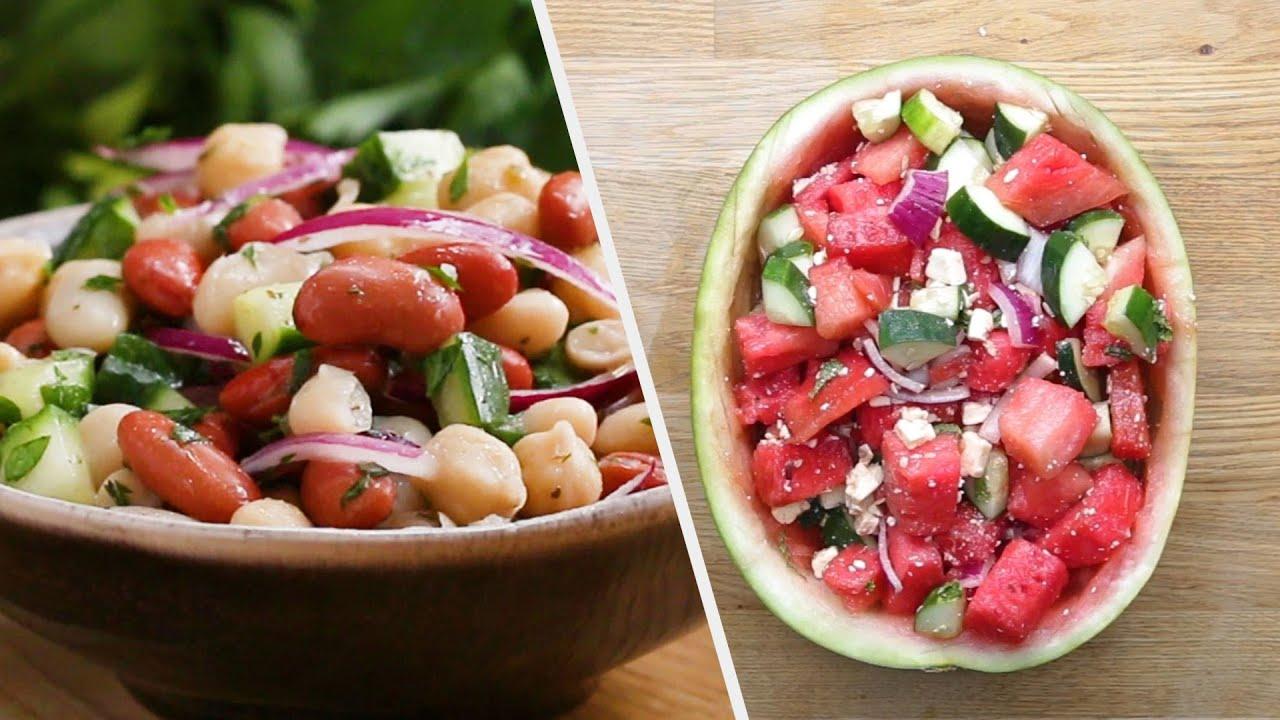 Healthy & Green Salad Recipes