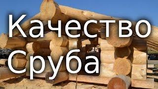 видео Рубка дома в лапу: технология, преимущества, недостатки