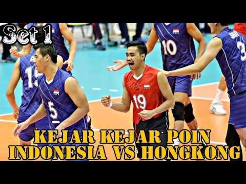 INDONESIA vs HONGKONG SET 1 - AVC SENIOR MENS