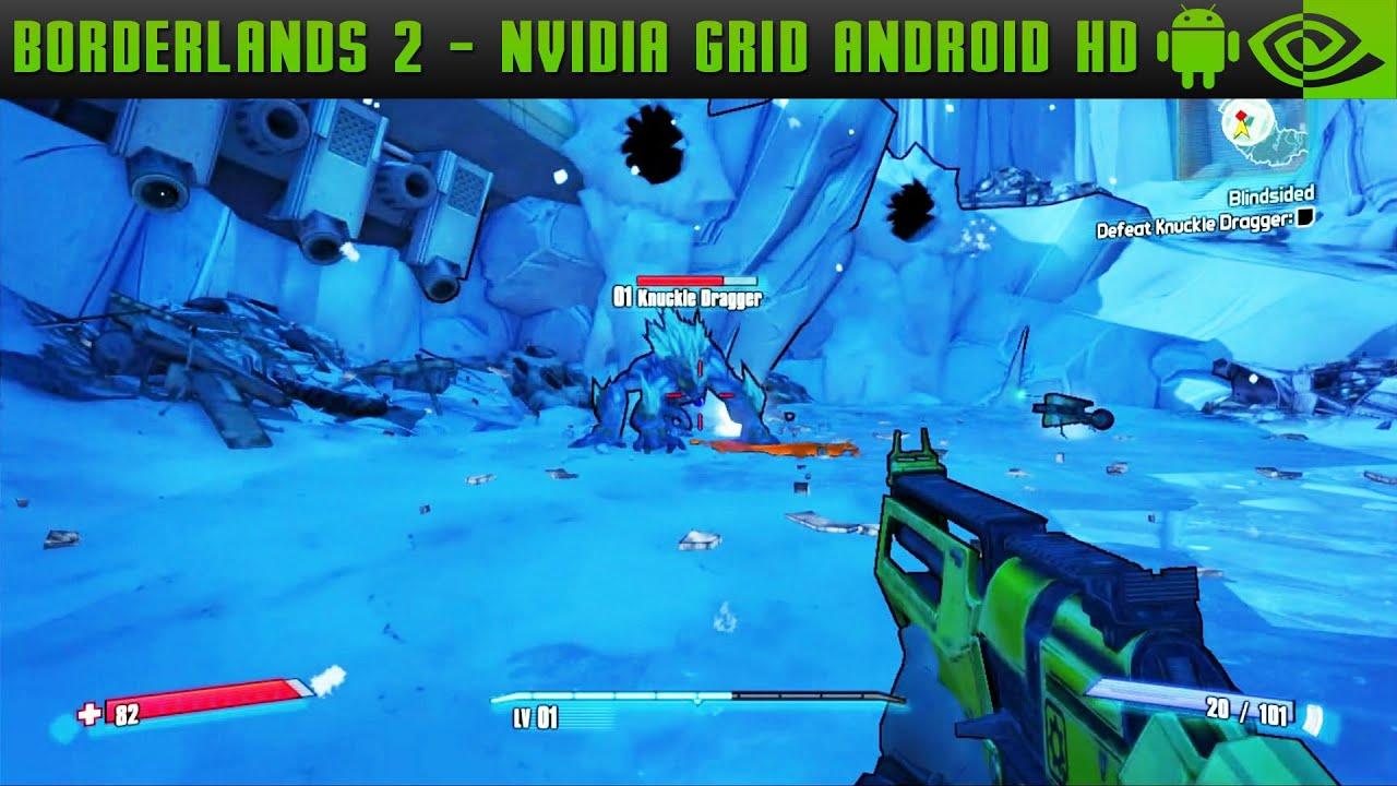 borderlands 2 - nvidia grid gameplay - nvidia shield tablet