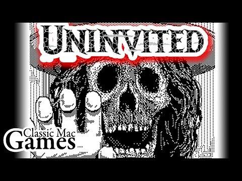 Uninvited for Macintosh WALKTHROUGH - Classic Mac Games