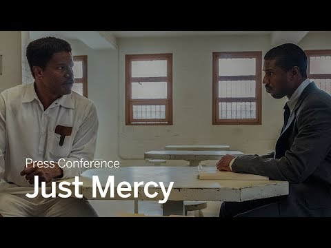 Press Conference: Just Mercy