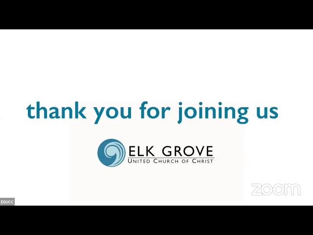 EGUCC Sunday 7-25-2021 Service.