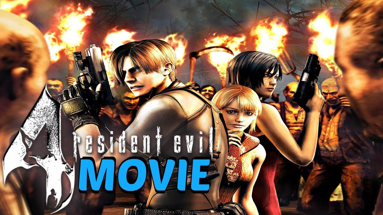Resident Evil 4 Hd Remaster All Cutscenes Full Movie Youtube