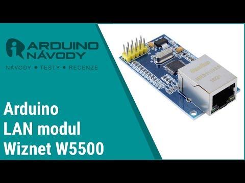 Arduino Návody   LAN Modul W5500