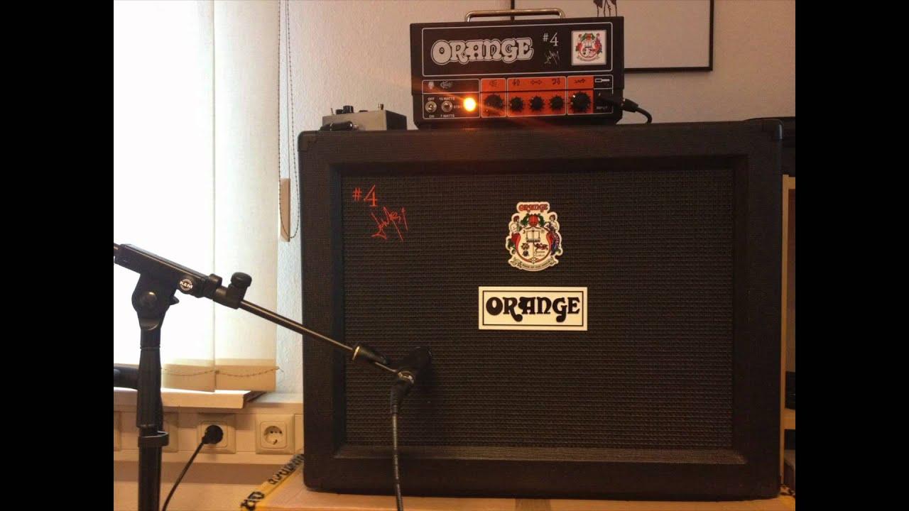 Orange 4 Jim Root Terror Head Amp Cab Metal Tone Demo