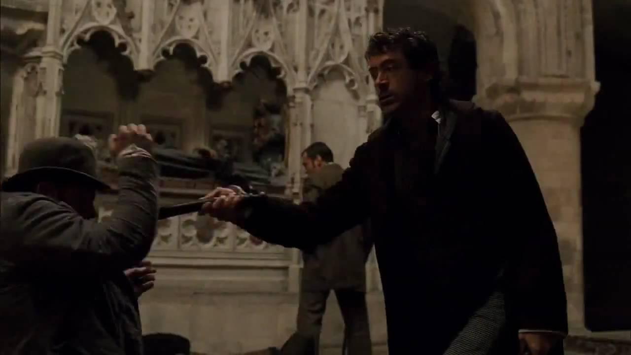 Sherlock Holmes [2009] magyar feliratos előzetes HD (pCk)