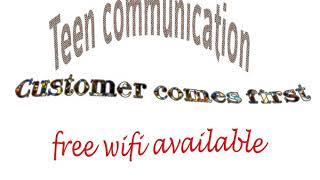 TEENZ COMMUNICATION ADVERT