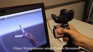 Demonstration of TORC: A Virtual Reality Controller for In-Hand High-Dexterity Finger Interaction
