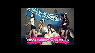 miss A (미쓰에이) - I don't need a man(남자 없이 잘 살아) (Audio)