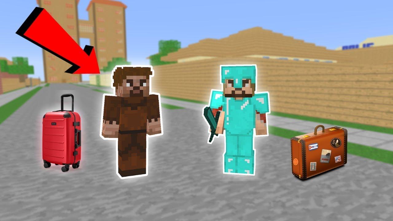 Zengin Ve Fakir Tasiniyor Minecraft Youtube