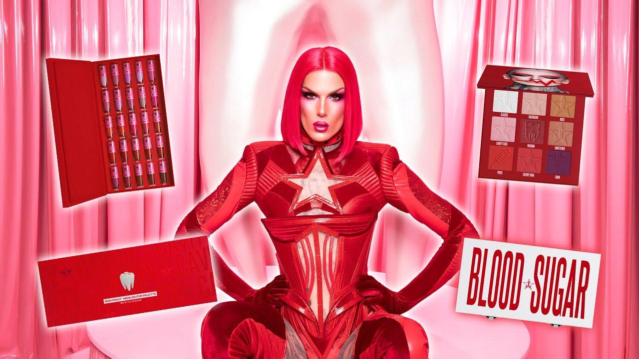 Cavity Palette 🦷 & Blood Sugar Anniversary Collection! | Jeffree Star Cosmetics