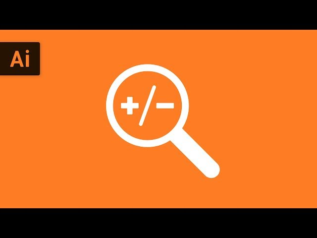 How to Zoom In & Zoom Out | Illustrator Tutorial